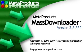 MetaProducts Mass Downloader 3.3