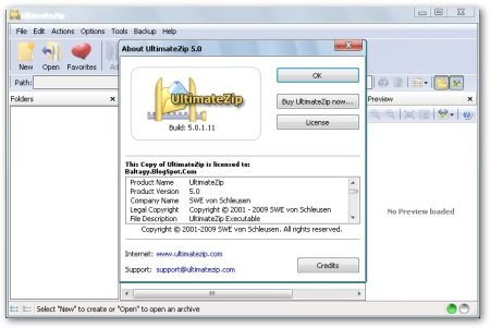 UltimateZip 5.0.1.11 Portable